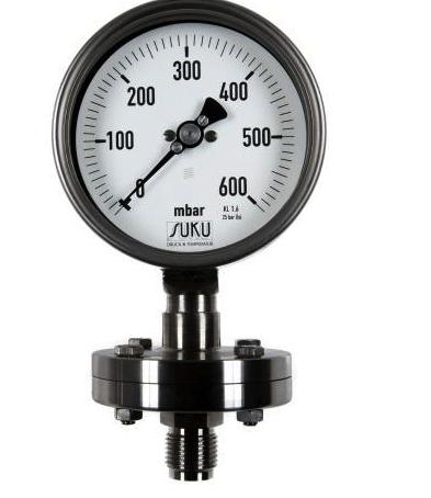 Đồng hồ áp suất dạng màng dủng cho thực phẩm, hoá chất