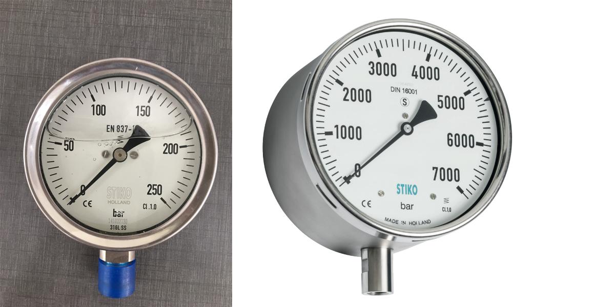 Đồng hồ đo áp suất máy nén khí