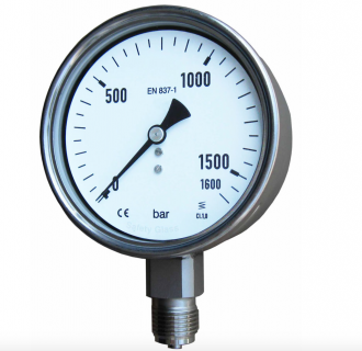 Đồng hồ áp suất hơi nóng