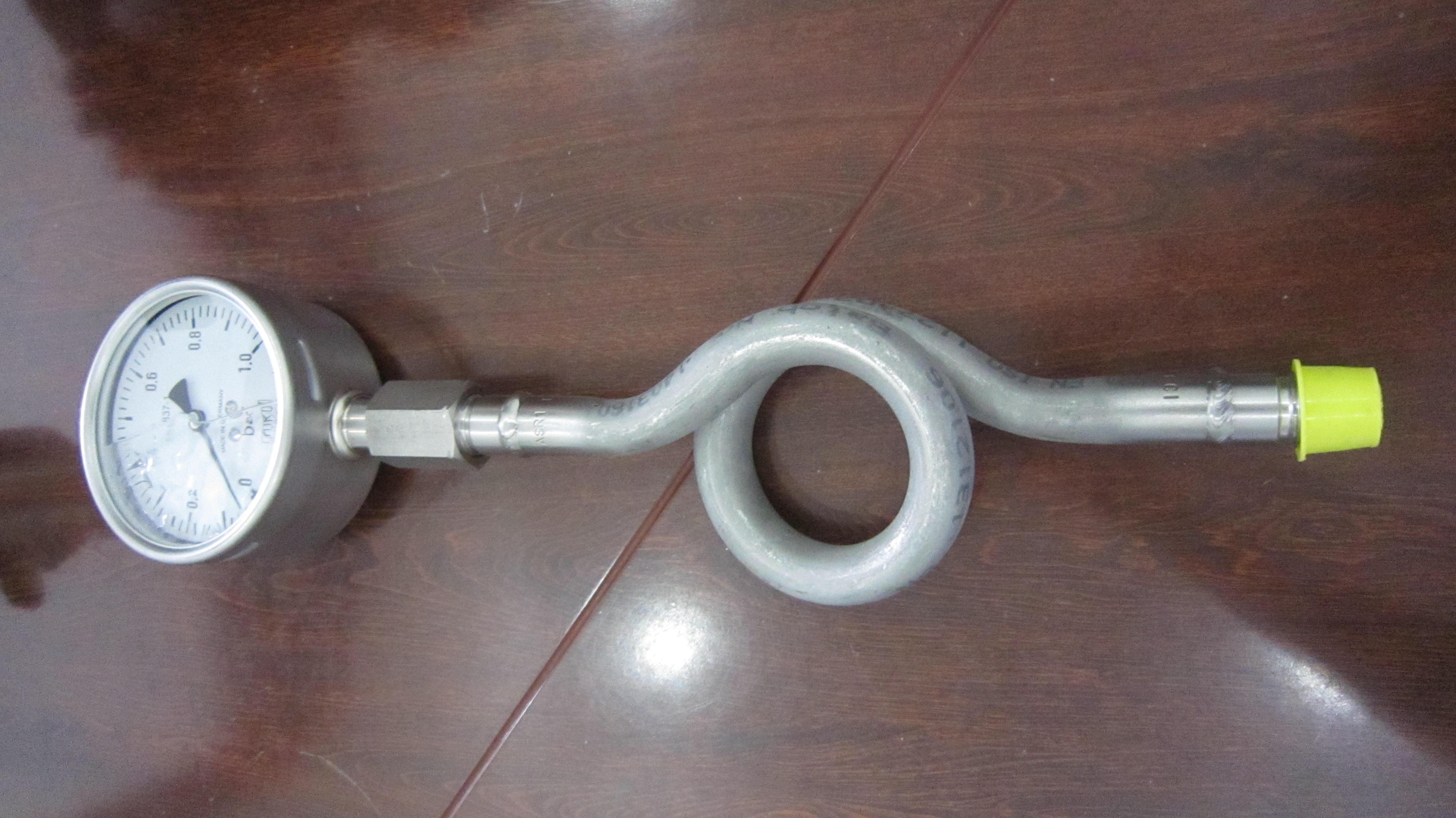 Ống Siphong giảm nhiệt độ cho đồng hồ áp suất