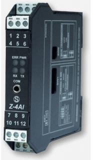 Bộ Chuyển Đổi Analog 4-20mA sang Modbus RS485 Model Z-4Ai