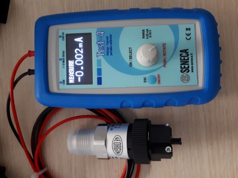 Bộ đo dòng 4-20mA Seneca TEST-4