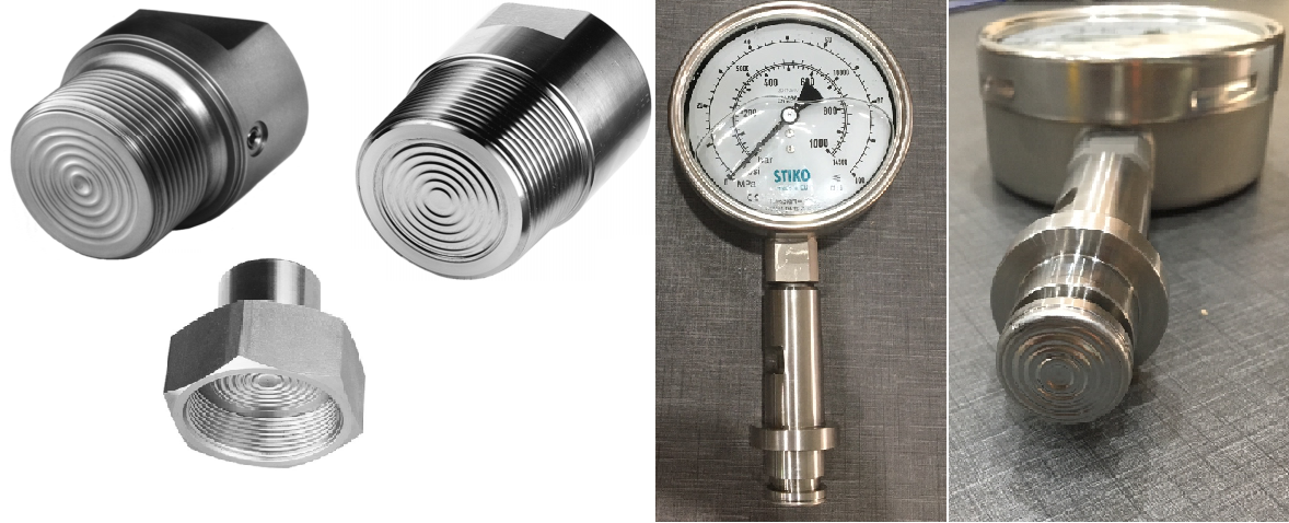 Các loại đồng hồ áp suất màng