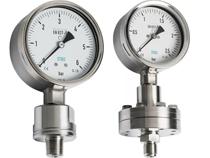 Đồng hồ đo áp suất màng- Đồng hồ áp suất hóa chất