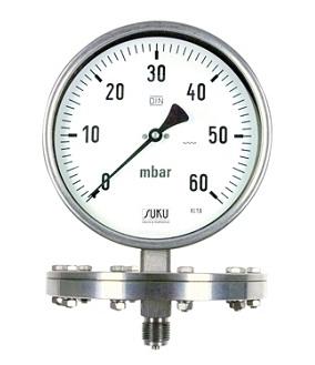đồng hồ áp suất màng Suku