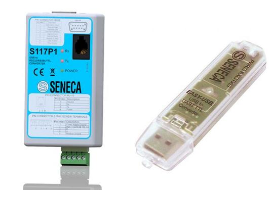 cách cài đặt bộ chuyển đổi nhiệt độ Seneca