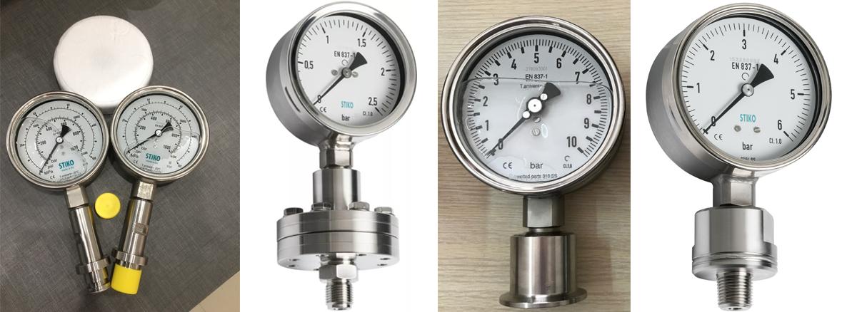 các loại đồng hồ áp suất