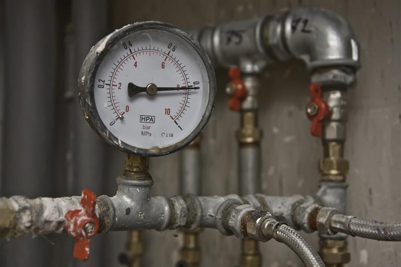 đồng hồ đo áp suất nước
