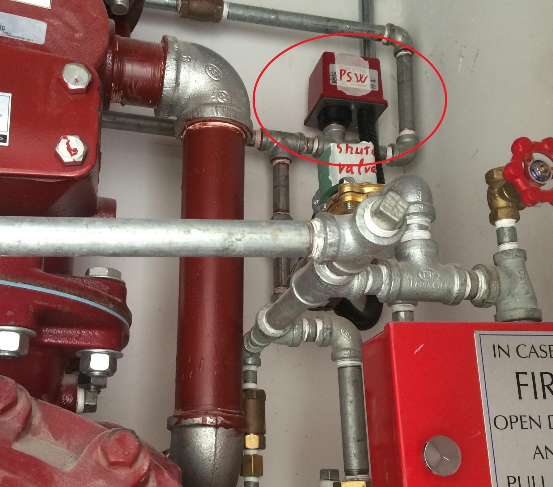 Công tắc dòng chảy dùng trong hệ thống PCCC