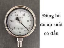 Đồng hồ đo áp suất có dầu