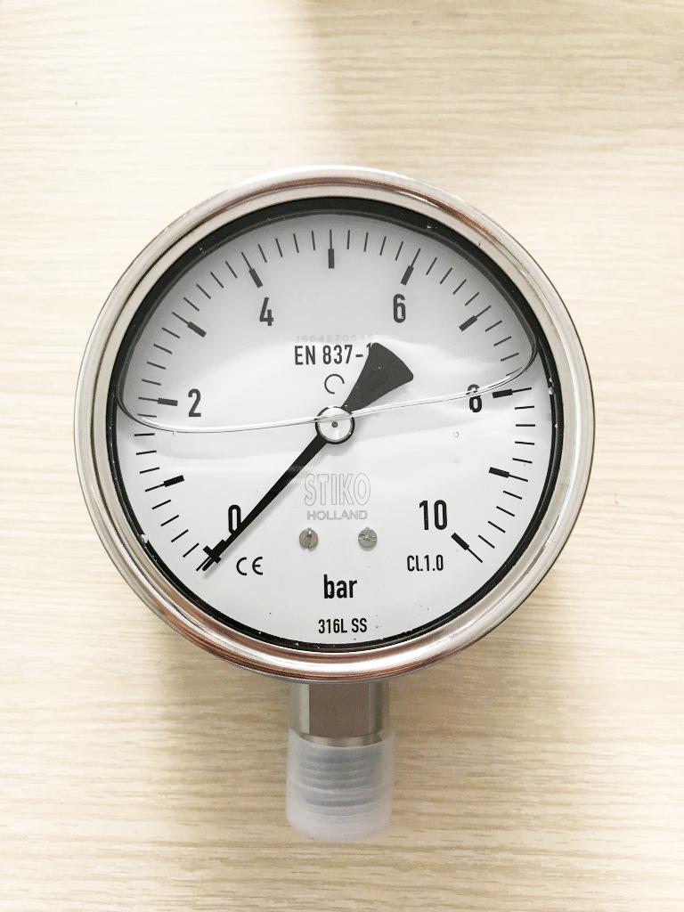 đồng hồ áp suất nước 0-10bar