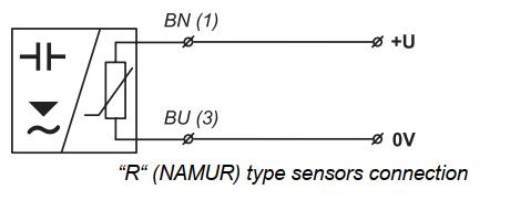 cách đấu dây cảm biến output NAMUR