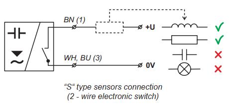 cách đấu dây cảm biến báo mức output NPN
