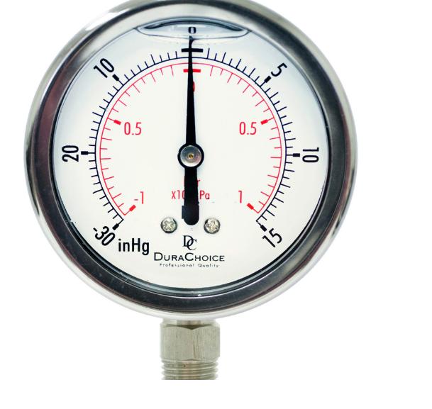 đồng hồ đo áp suất hút và đẩy