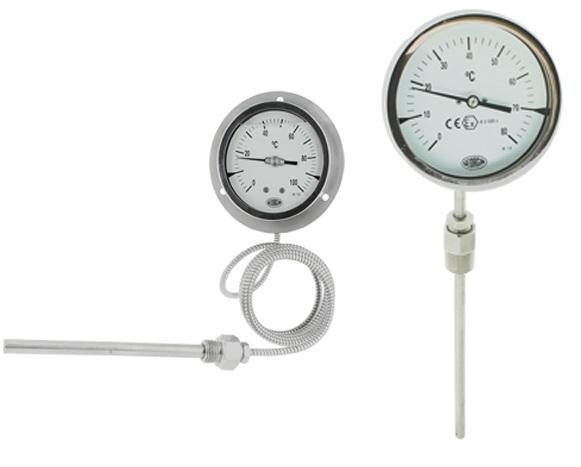Đồng hồ nhiệt độ cơ Georgin