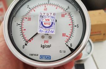 tem kiểm định đồng hồ áp suất