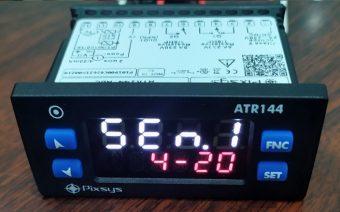 Giao diện cài đặt dạng tín hiệu input bộ ATR144