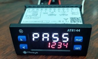 Giao diện nhập pass bộ ATR144