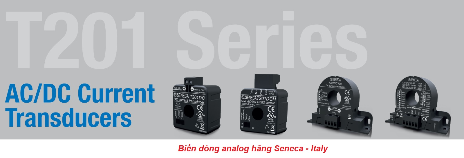 Biến dòng analog hãng Seneca
