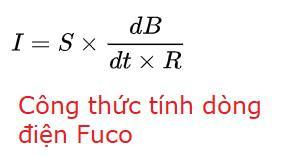 Công thức tính dòng điện Fuco