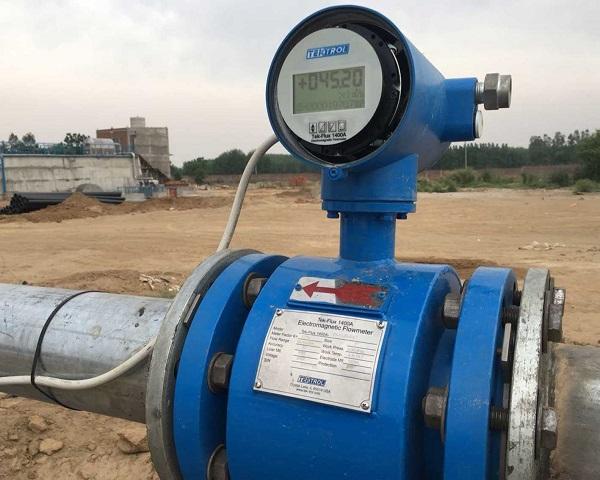 sensor đo lưu lượng nước thải
