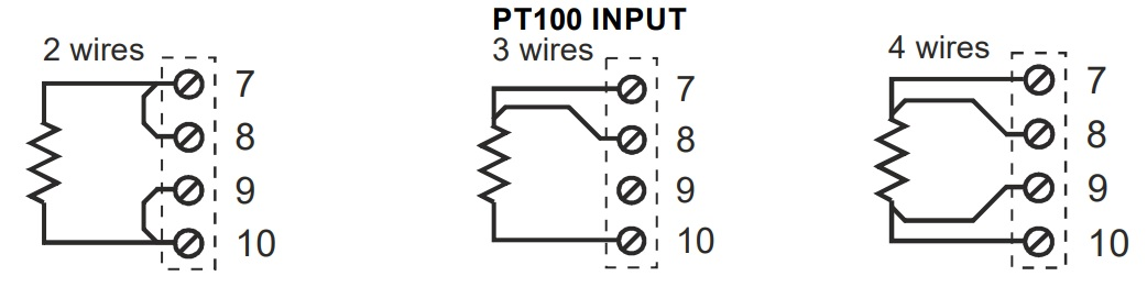 cách đấu dây pt100 3 dây