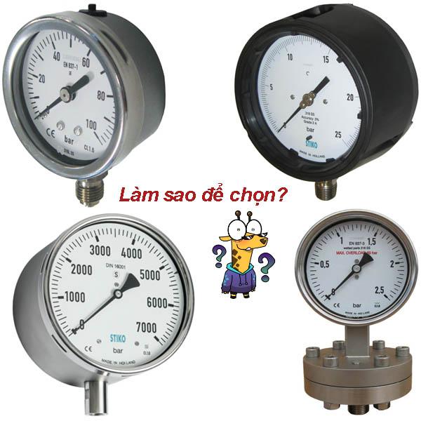 lắp đặt đồng hồ áp suất